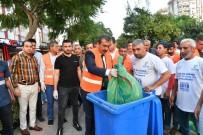 UĞUR MUMCU - Başkan Çetin Çevre Gönüllüleriyle Beraber Çöp Topladı