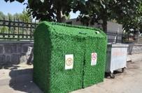 Cizre Belediyesi Çöp Konteynırlarına Estetik Bir Görünüm Kazandırdı