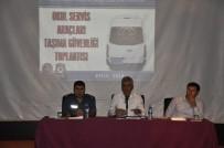GÜVENLİ OKUL - Cizre'de Eğitim Dönemi Taşıma Güvenliği Toplantısı