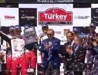 DÜNYA RALLI ŞAMPIYONASı - Cumhurbaşkanı Erdoğan, Dünya Ralli Şampiyonası'nda pilotlara ödüllerini takdim etti