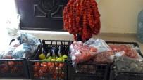 Gercüş'te Kurutmalık Sebzeler Kışa Hazırlanıyor