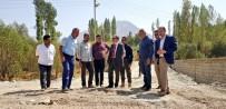 ŞEBEKE HATTI - Hakkari Merzan İlk Defa Kanalizasyon Şebekesine Kavuşuyor