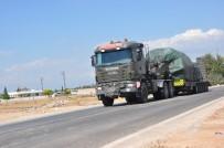 ASKERİ KONVOY - İdlib Sınırına Askeri Sevkiyat Sürüyor