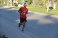 İyilik İçin Koşan Esnaf, 450 Kilometreyi Geride Bıraktı