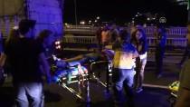 KARŞIYAKA - İzmir'de Trafik Kazası Açıklaması 1 Ölü, 4 Yaralı