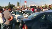 BULDUK - Kayseri'de İki Otomobil Çarpıştı Açıklaması 4 Yaralı