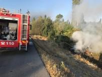 Kaza Yapan Otomobil Yandı Açıklaması 3 Yaralı
