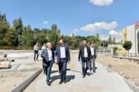 MAMAK BELEDIYESI - Modern Yapılar Yeşil İle Bütünleşiyor