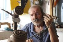 SANAT ESERİ - (Özel) Ahşaptan Öyle Ev Telefonları Yapıyor Ki Görenler Hayran Kalıyor