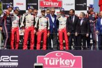 DÜNYA RALLI ŞAMPIYONASı - Şampiyonlar Kupalarını Cumhurbaşkanı Erdoğan'ın Elinden Aldı