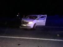 Sarıkamış'ta Trafik Kazası Açıklaması 1'İ Ağır 4 Yaralı
