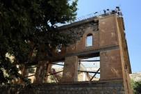 Tarihi Lice Ulu Cami Restorasyonu Devam Ediyor
