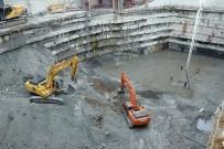 Trabzon'da Tam Otomatik Katlı Otoparkta Kazı Bitti, Temele Başlandı