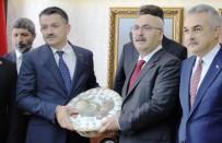 Vali Köşger'den Bakan Pakdemirli'ye Uzun Yaşam Sepeti
