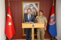 JANDARMA GENEL KOMUTANLIĞI - Vali Pehlivan, İl Jandarma Komutanı Bilgiç'i Ziyaret Etti