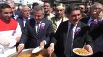 Ağrı'da 'Ahilik Haftası'nda Vatandaşlara İkram Yapıldı
