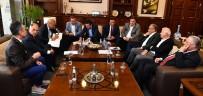 AYDIN ŞENGÜL - AK Parti'li Başkanlardan Başkan Kocaoğlu İle Görüşme