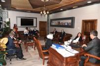 GÖREV SÜRESİ - Başkan Asya, MYK Üyesi Milletvekili Ekinci'ye Hizmetleri Anlattı