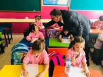 VEZIRHAN - Başkan Duymuş, Minik Öğrencileri Ziyaret Etti