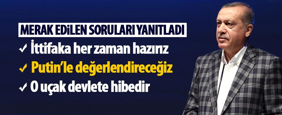 Erdoğan ''Sizi rejim, bizi Suriye halkı çağırdı''