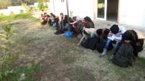Çanakkale'de 60 Düzensiz Göçmen Yakalandı