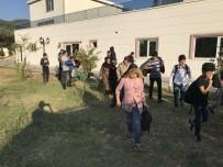 CAMİİ - Çanakkale'de 60 Kaçak Yakalandı