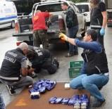 Durdurulan Kamyonetin Kasasının Alt Kısmında 47 Kilogram Eroin Ele Geçirildi