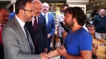 Gençlik Ve Spor Bakanı Kasapoğlu Mağdur Esnafı Ziyaret Etti