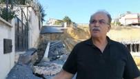 DOĞALGAZ - İnşaat Temeli Yolu Çökertince Bitişikteki Evler Boşaltıldı