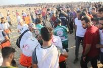 TOPRAK GÜNÜ - İsrail 95 Filistinli'yi Yaraladı