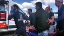 Kars'ta Yolcu Minibüsü Devrildi Açıklaması 16 Yaralı