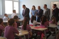 Kaymakam Işıktaş Onarılan Okulları Dolaştı
