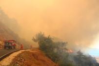 Kumluca'da Başlayan Yangın, Adrasan'a Yayıldı