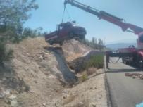 Mut'ta Trafik Kazası 1 Yaralı