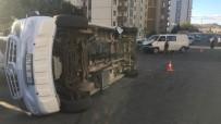 ÖĞRENCİ SERVİSİ - Öğrenci Servisi Devrildi Açıklaması 6 Yaralı