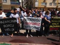 PAZARCI ESNAFI - Pazarcıların Eyleminde Vatandaş Tepkisi Açıklaması 'Pazar Yüzünden Cenazemizi Evden Çıkaramıyoruz'