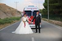 GELİN ARABASI - Servis Minibüsünü Gelin Arabası Yaptı