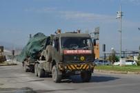ASKERİ KONVOY - Sınır Birliklerine Askeri Sevkiyat
