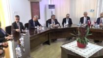 KıBRıS - TBMM Dışişleri Komisyonu Başkanı Bozkır, KKTC Dışişleri Bakanı Özersay İle Görüştü