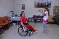 ÇOCUK FELCİ - Tekerlekli Sandalyede Harmandalı