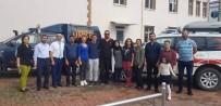 UMKE Gönüllüleri Kilis Sahra Hastanesine Uğurlandı