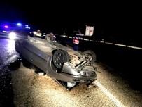 DİREKSİYON - Uzman Çavuşlar Kaza Yaptı Açıklaması 1 Ölü, 1 Yaralı