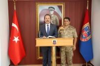 JANDARMA GENEL KOMUTANLIĞI - Vali Pehlivan, İl Jandarma Komutanı Jandarma Albay Bilgiç'i Ziyaret Etti