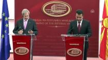 27 EYLÜL - AB Komisyonunun Genişlemeden Sorumlu Üyesi Hahn Makedonya'da