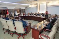 KAMU DENETÇİLERİ - AB Parlamentosu Heyeti, Başdenetçi Şeref Malkoç'u Ziyaret Etti