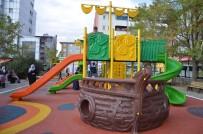 Ağrı'da Park Çalışmaları Devam Ediyor
