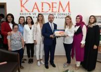 AK Parti'li Turan Ve İskenderoğlu  KADEM'i Ziyaret Etti