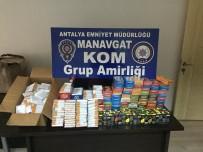 Antalya'da Kol Saati Ve Kaçak Tütün Operasyonu