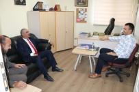 GÖKTÜRK - Başkan  Aydın'dan İHA'ya Ziyaret