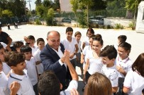 OKUL ZİYARETİ - Başkan Hasan Arslan'dan İlk Gün Okul Ziyaretleri